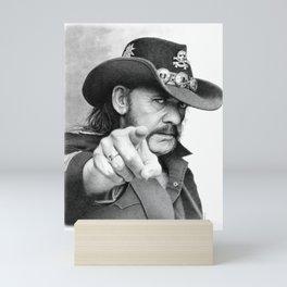 Lemmy sketch Mini Art Print