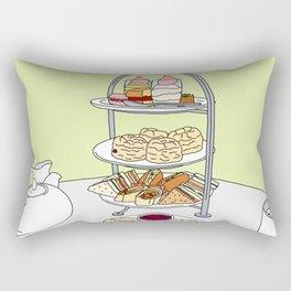 English Afternoon Tea Rectangular Pillow