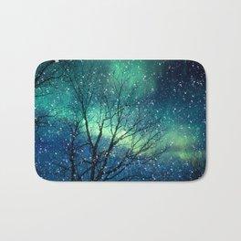 Aurora Borealis Northern Lights Bath Mat