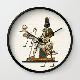 Khnum Wall Clock