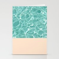 pool Stationery Cards featuring Pool by Grace