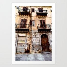 Abandoned Sound of Sicily Art Print