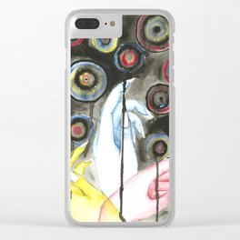 Primary Clear iPhone Case