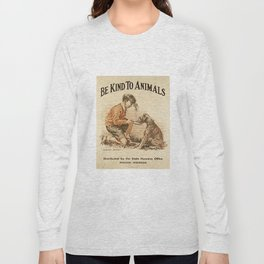 Be Kind To Animals 3 Long Sleeve T-shirt