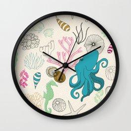 I Need the Sea and the Sea Needs Me Wall Clock