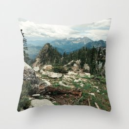Utah Alpine Throw Pillow