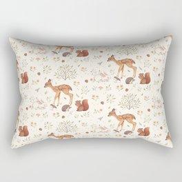 Woodland Friends Rectangular Pillow