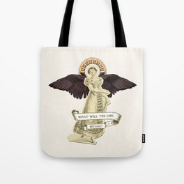 What Will the Girl Become? Tote Bag