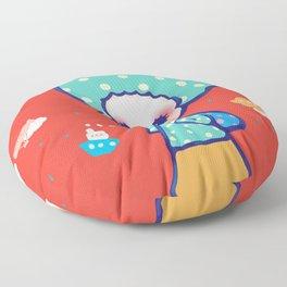a little travel Floor Pillow