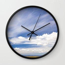 arizona view Wall Clock