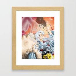 To Feel the Wind Framed Art Print