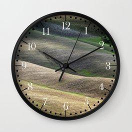 Tuscan land Wall Clock