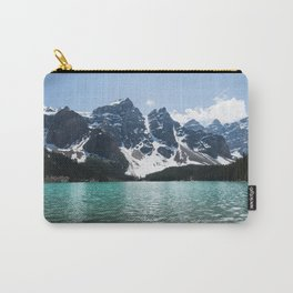 Landscape Lake Moraine Mountains Carry-All Pouch