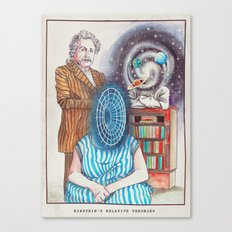 Einstein's Relative Theories Canvas Print