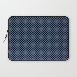 Riverside and Black Polka Dots Laptop Sleeve