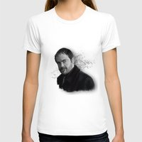 crowley T-shirts featuring Supernatural - Crowley The King of Hell ! by firatbilal
