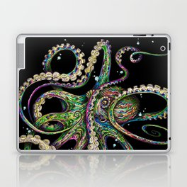 Octopsychedelia (black) Laptop & iPad Skin