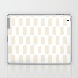 Shapes Nr.5 - White Blocks Laptop & iPad Skin