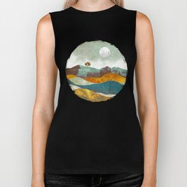 Night Fog Biker Tank