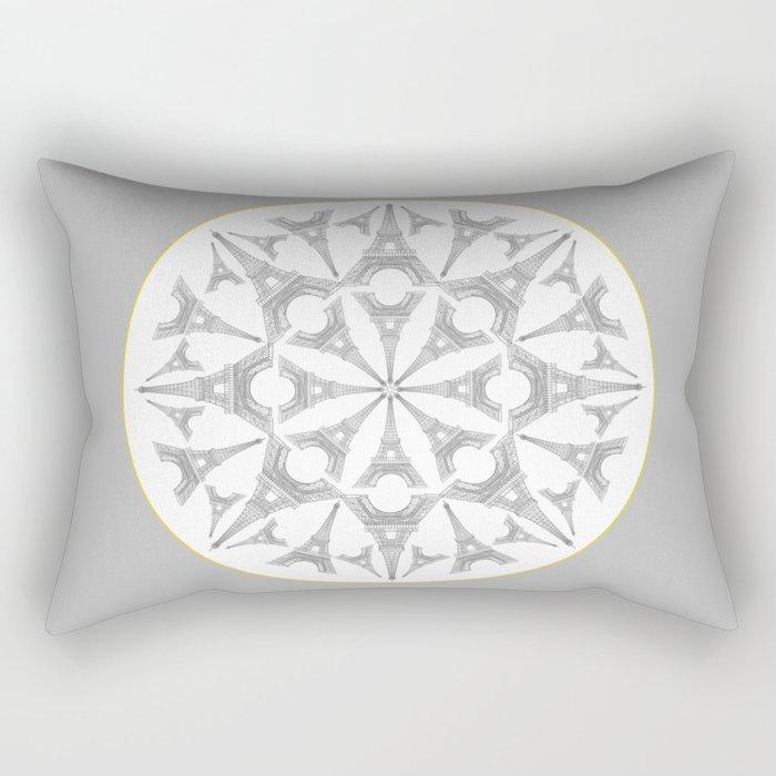 Paris in a Kaleidoscope Rectangular Pillow