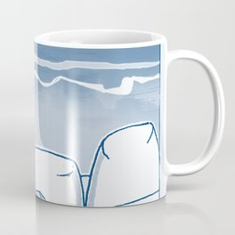 In Paradise Labyrinth Andre Bloc Coffee Mug