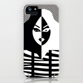 Phi Phi O'Hara Monocromatic iPhone Case