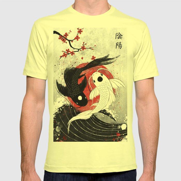 Koi fish - Yin Yang T-shirt