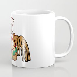 Chickity Choco, The Chocolate Chicken Coffee Mug