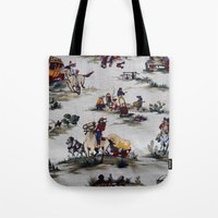 western Tote Bags featuring Western  by Kim-maree Clark