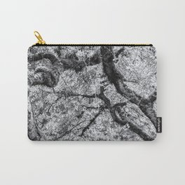 Falling into Spring bw Carry-All Pouch