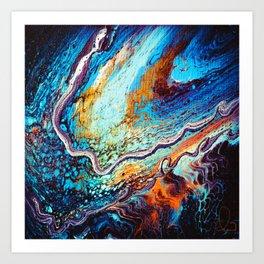 Galaxy Tentacles  Art Print