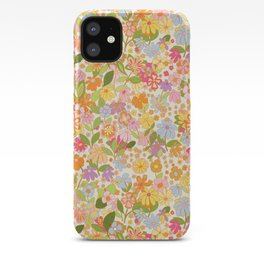 Nostalgia in the garden iPhone Case
