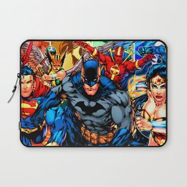 a collection of heroes Laptop Sleeve
