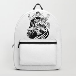 Justice League Trinity: The Caped Crusader, Diana Prince, Superman Backpack