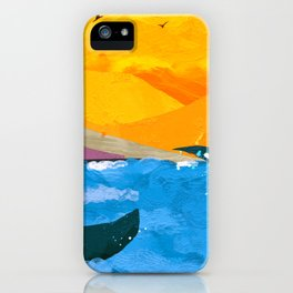 Two whales iPhone Case