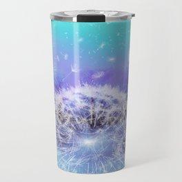 Make a Wish - Blue Travel Mug