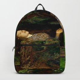 "John Everett Millais ""Ophelia"" Backpack"