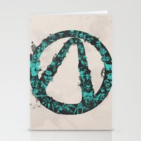 borderlands Stationery Cards featuring Borderlands 2 by Bill Pyle
