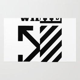 X Off White Rug
