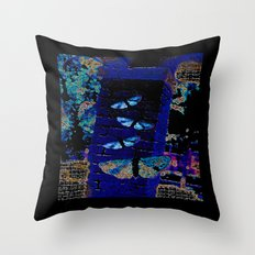 Moth Throw Pillow