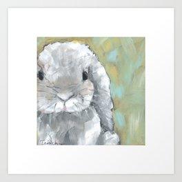 Flopsy the Bunny Art Print