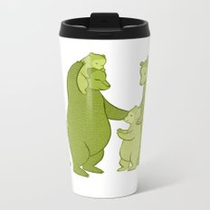 Bear family of Five Metal Travel Mug