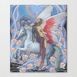 Faith Flies Canvas Print