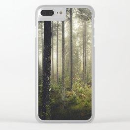 I never sleep Clear iPhone Case