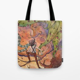Ode to The Giving Tree Tote Bag
