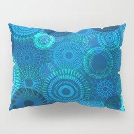 Kooky Kaleidoscope Navy Pillow Sham