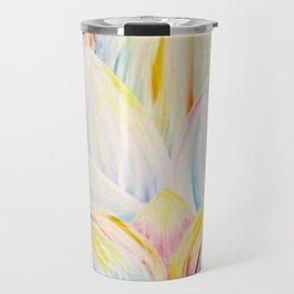 Rainbow Lotus Travel Mug
