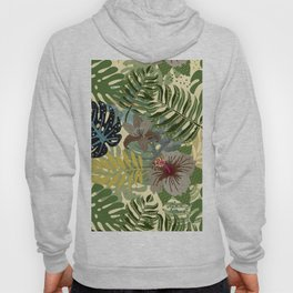 My abstract Aloha Jungle Garden Hoody