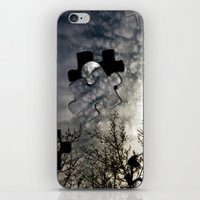 surrealism iPhone & iPod Skins featuring Sky Surrealism. by Jess Noelle