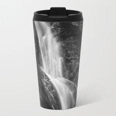 Waterfall in Hell Gorge, Slovenia Metal Travel Mug